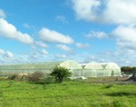 Commercial 10,000 sq ft Portable Farms Aquaponics System in Botswana, Africa
