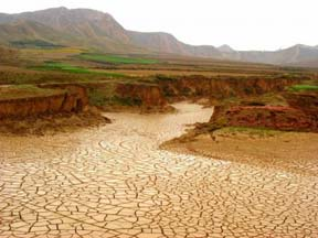 dry-riverbed