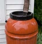 rain barrel'