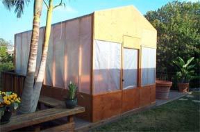 greenhouse backyard