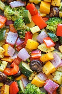 roasted veges