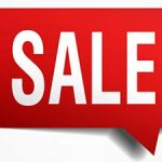 sale sign red