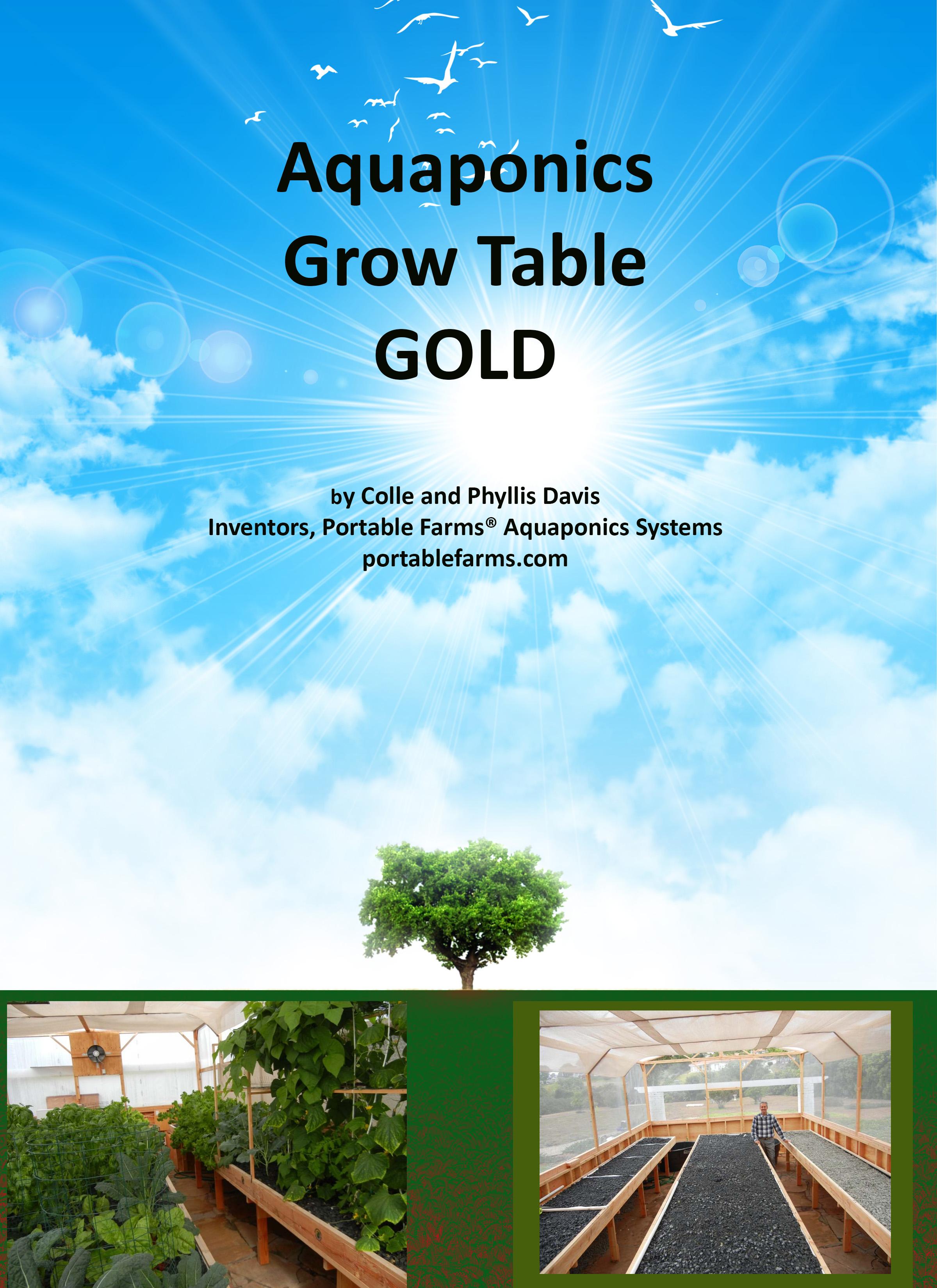 Aquaponics Grow Tables GOLD ebook and Automatic Trip Valve
